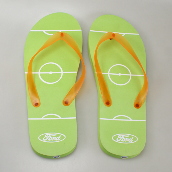 flip flop slipper Ford groen