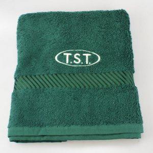 handdoek met borduursel TST