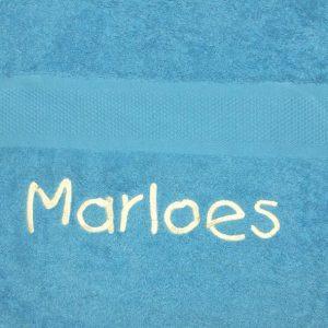 borduring op handdoek