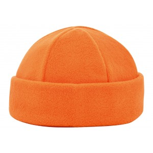 6 panel fleece muts oranje Image