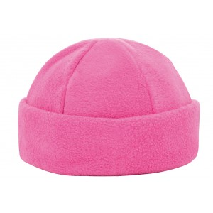 6 panel fleece muts roze Image
