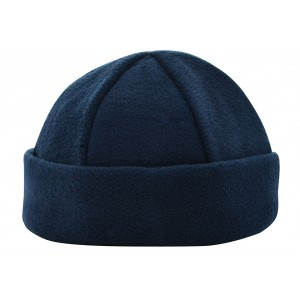 6 panel fleece muts navy Image