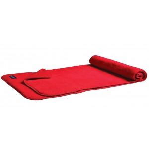 Fleece sjaal deluxe 1885 rood Image