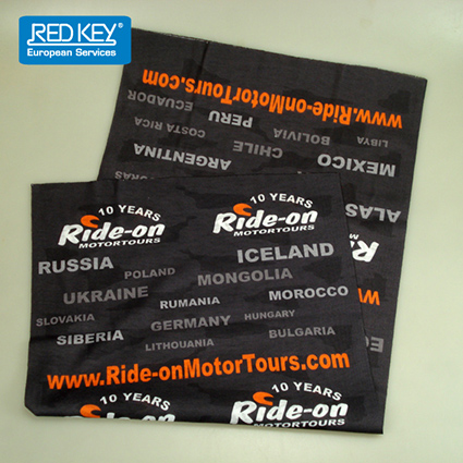 buff bandana Ride-on motortours Image